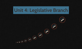 Unit 4: Legislative Branch