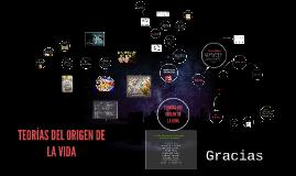 Copy of Copy of ORIGEN DE LA VIDA