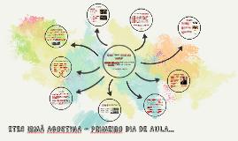 ETEC IRMÃ AGOSTINA - PRIMEIRO DIA DE AULA...