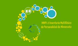MMPI-2 Inventario Multifasico de Personalidad de Minnesota