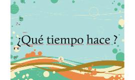 Copy of El Tiempo