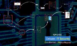 Debate: IT Security