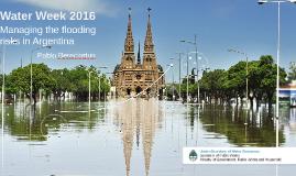 Managing floods risks in Argentina - Pablo Bereciartua