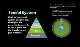 Feudal System Target Game