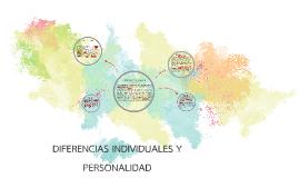 DIFERENCIAS INDIVIDUALES Y PERSONALIDAD
