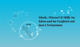 Sünde, Himmel & Hölle im Islam und im Vergleich mit dem Chri