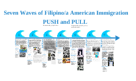 Seven Waves of Filipino/a American Immigration