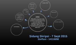 Sidang Skripsi - Steffani