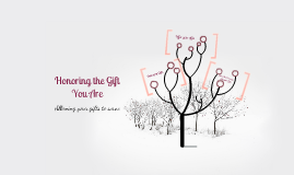 Honoring the Gift You Are