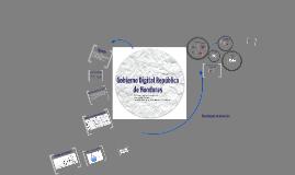 Gobierno Digital República de Honduras