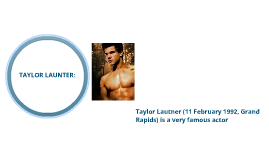 Copy of taylor launter