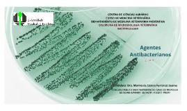 Aula 09 - UEL - Agentes Antibacterianos