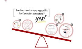 Prezi Workshops in Canada