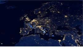 Como é a economia na França, Itália e Grécia?