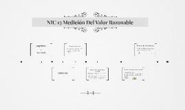 NIC 13 Medición Del Valor Razonable
