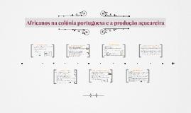Africanos na colônia portuguesa e a sociedade do açúcar - 7° ano
