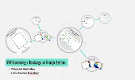 BVP Governing a Rectangular Trough System