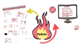 Redoksreaksjoner er reaksjoner med elektronovergang