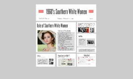 Roles of Southern White Women