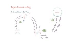 Paperless Grading