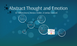 Abstract Thought and Emotion