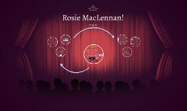 Rosie MacLennan!