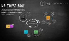 Le Toy's bar