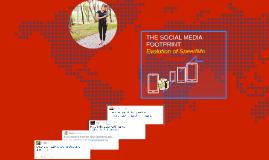 THE SOCIAL MEDIA FOOTPRINT