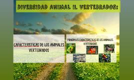 DIVERSIDAD ANIMAL II. VERTEBRADOS: