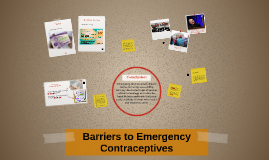 Barriers to Emergency Contraceptives