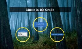 Music in 4th grade