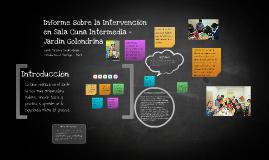 Sala Cuna Intermedia