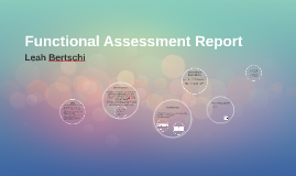 Copy of Functional Assessment Report
