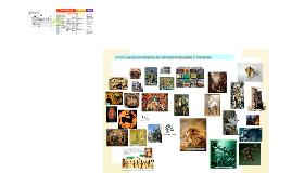 petite galerie non exhaustive des créatures mythologiques et fantastiques