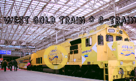 G-Train 서해 금빛 열차