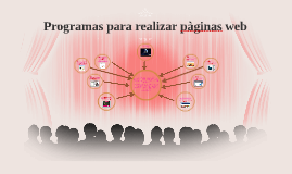 Programas para realizar pàginas web