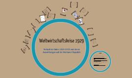 Copy of Weltwirtschaftskrise 1929