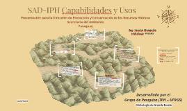 SAD-IPH Capabilidades y Usos
