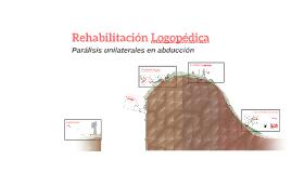 Rehabilitación Logopédica: Parálisis unilaterales en abducción