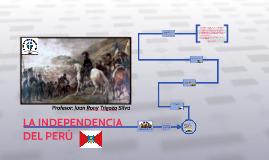 Copy of LA INDEPENDENCIA DEL PERÚ