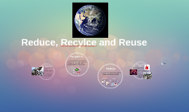 Reduce, Recylce and Reuse