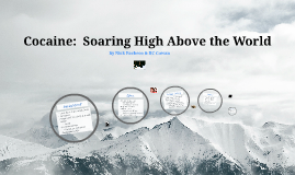 Cocaine:  Soaring High Above the World