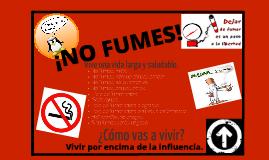 Copy of ¡No Fumes!