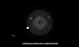 PRIMERA GENERACIÓN DE (1951-1958)