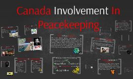 Canada Involvement In Peacekeeping