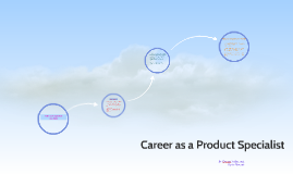Career as a product specialist