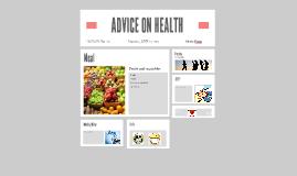 ADVICE ON HEALTH