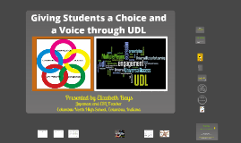 Giving Students a Choice and a Voice through UDL (Universal Design for Learning)