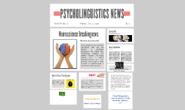PSYCHOLINGUISTICS NEWS