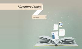 Literature Lesson をコピー